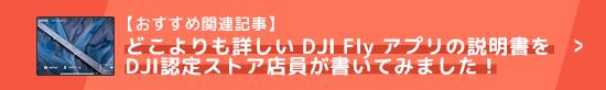 どこよりも詳しい DJI Fly アプリの説明書をDJI認定ストア店員が書いてみました!