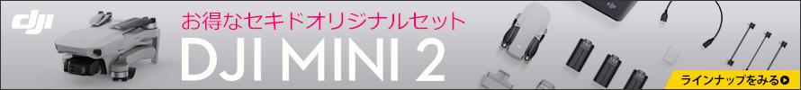 セキドオンラインストア | DJI MINI 2 オリジナルセット