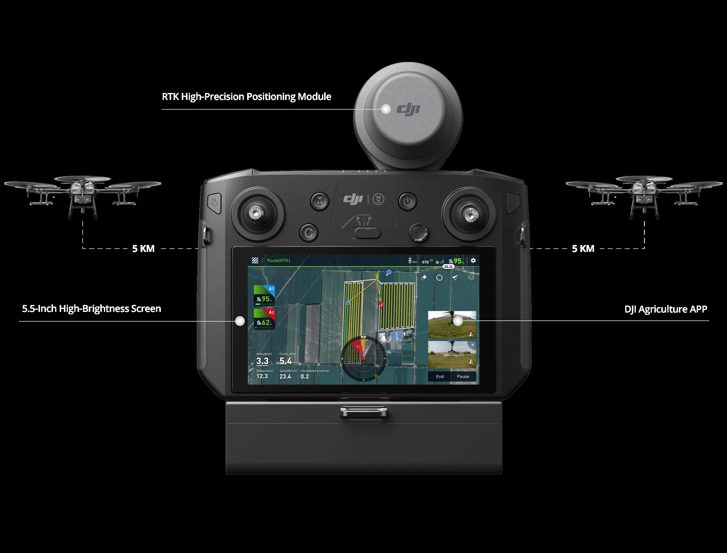 AGRAS T30   Ultrabright Screen Ultimate Control